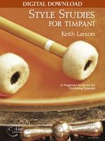 Style Studies for Timpani [DIGITAL]