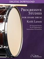 Progressive Studies for Snare Drum [DIGITAL]