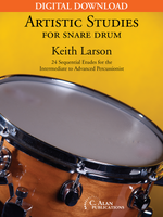 Artistic Studies for Snare Drum [DIGITAL]