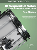 10 Sequential Solos for Rudimental Snare Drum ]DIGITAL]