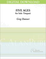 Five Ages (Solo Timpani) [DIGITAL]