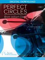 Perfect Circles: 12 Intermediate Pieces for 4 Timpani [DIGITAL]