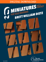 9 Miniatures & a Fantasy - Brett Dietz [DIGITAL]