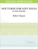 Nocturne for Lost Souls (solo 4-mallet marimba) [DIGITAL]