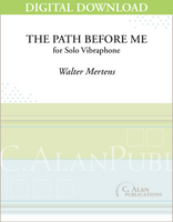 Path Before Me, The (Solo Vibraphone) [DIGITAL]