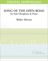 Song of the Open Road (Vibraphone & Piano) [DIGITAL]