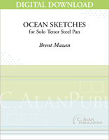 Ocean Sketches (Solo Steel Pan) [DIGITAL]