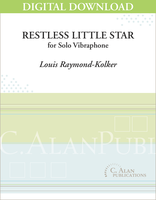 Restless Little Star (Solo Vibraphone) [DIGITAL]