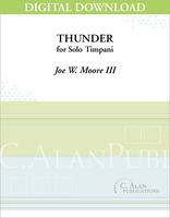 Thunder (Solo Timpani) [DIGITAL]