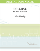 Collapse (Solo Marimba) [DIGITAL]