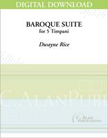 Baroque Suite for 5 Timpani [DIGITAL]