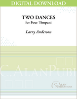 Two Dances for Four Timpani [DIGITAL]