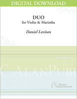 Duo for Violin and Marimba [DIGITAL]