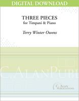 Three Pieces for Timpani & Piano [DIGITAL]