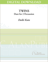 Twins (Percussion Duet) - [DIGITAL]