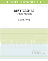 Best Wishes (Solo Marimba) [DIGITAL]