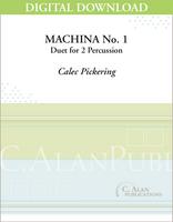 Machina No. 1 (Multi-Percussion Duet) - [DIGITAL]