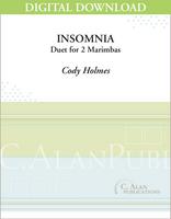 Insomnia (Marimba Duet) - [DIGITAL]