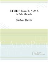 Etude Nos. 4, 5 & 6 (Solo 4-Mallet Marimba)