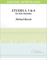 Etude Nos. 4, 5 & 6 (Solo 4-Mallet Marimba) [DIGITAL]