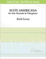 Suite Americana (Solo 4-Mallet Marimba) [DIGITAL]