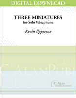 Three Miniatures for Vibraphone [DIGITAL]