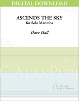 Ascends the Sky (Solo 4-Mallet Marimba) [DIGITAL]