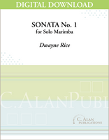 Sonata No. 1 for Marimba [DIGITAL]