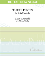 Three Pieces for Solo Marimba [DIGITAL]