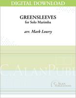 Greensleeves (Solo 4-Mallet Marimba) [DIGITAL]