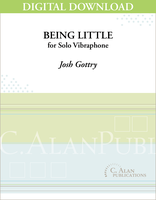 Being Little (Solo 4-Mallet Vibraphone) [DIGITAL]