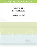 Maddie (Solo 4-Mallet Marimba) [DIGITAL]