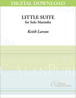 Little Suite for Solo Marimba [DIGITAL]