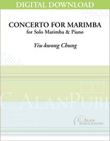 Concerto for Marimba & Wind Ensemble (piano reduction) [DIGITAL]