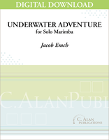 Underwater Adventure (Solo 4-Mallet Marimba) [DIGITAL]