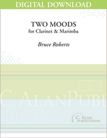 Two Moods for Clarinet & Marimba [DIGITAL]