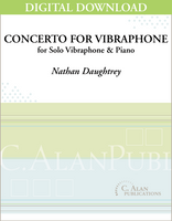 Concerto for Vibraphone (piano reduction) [DIGITAL]