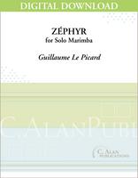 Zéphyr (Solo 4-Mallet Marimba) [DIGITAL]