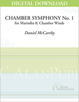 Chamber Symphony No. 1 for Marimba [DIGITAL]