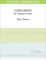 Concerto for Timpani and Brass [DIGITAL]