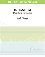 In Tandem (Percussion Duet) - [DIGITAL]