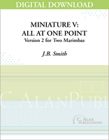 Miniature V: All At One Point, Version 2 - [DIGITAL]