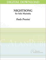 NightSong (Solo 4-Mallet Marimba) [DIGITAL]