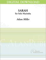 Sarah (Solo 4-Mallet Marimba) [DIGITAL]