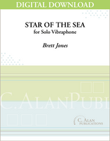 Star of the Sea (Solo 4-Mallet Vibraphone) [DIGITAL]