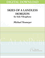 Skies of a Landless Horizon (Solo 4-Mallet Vibraphone) [DIGITAL]