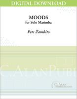 Moods for Solo Marimba [DIGITAL]