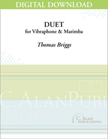 Duet for Marimba and Vibraphone - [DIGITAL]