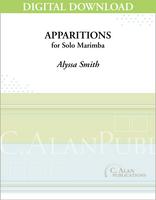 Apparitions (Solo 4-Mallet Marimba) [DIGITAL]