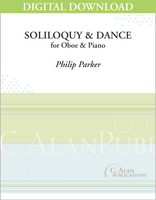 Soliloquy and Dance (piano reduction) [DIGITAL]